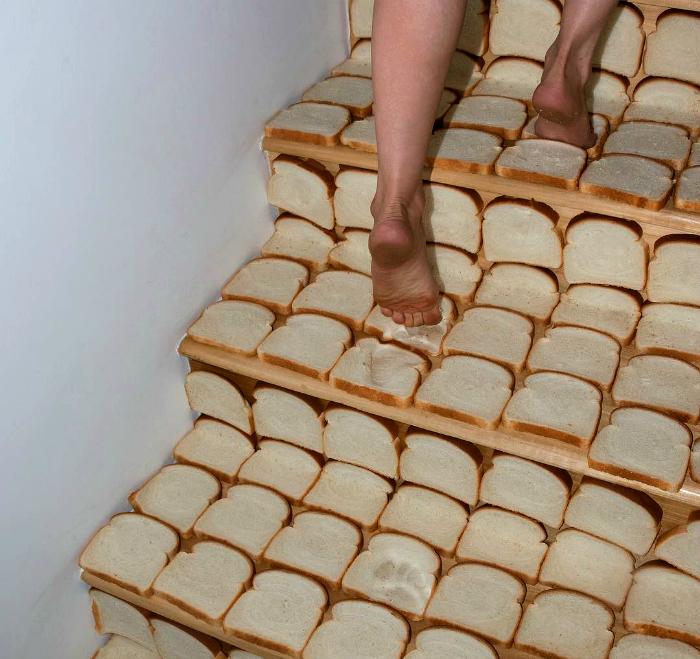 Хлебная лестница.