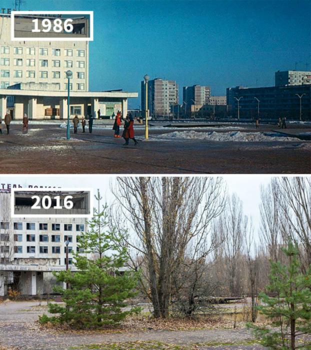 Припять, Украина, 1986 - 2016.