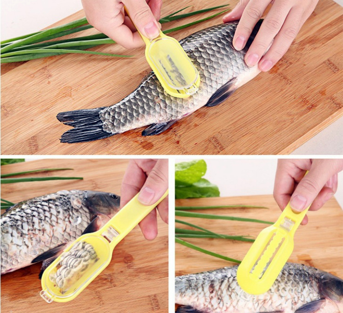 Нож для чистки рыбы.
