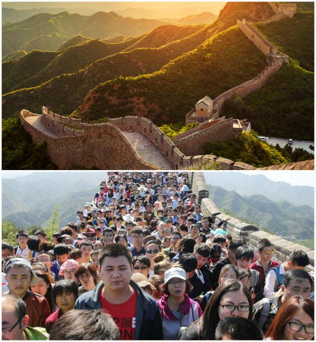 Если медленно переставлять ноги, есть шанс навсегда остаться на Великой Китайской стене.