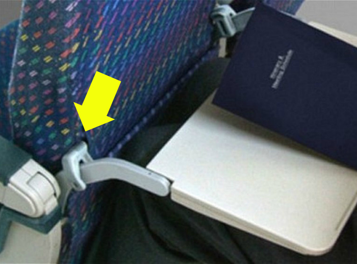 Ограничители на спинки сидений.