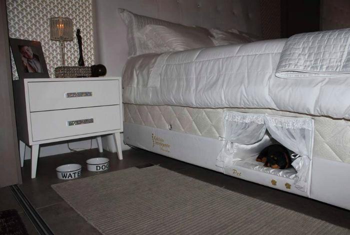 Необычная кровать для хозяев и их любимцев.