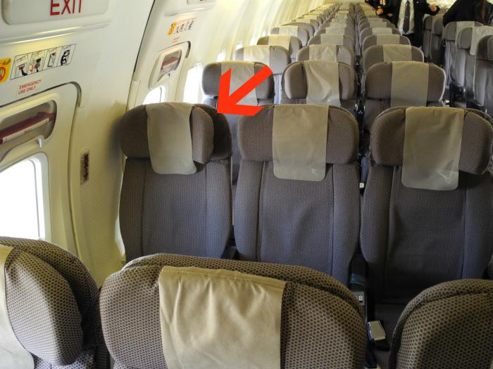 Подголовники самолетных кресел.| Фото: AeroTime.