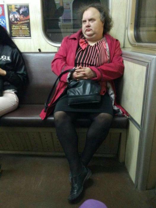 Странный пассажир.