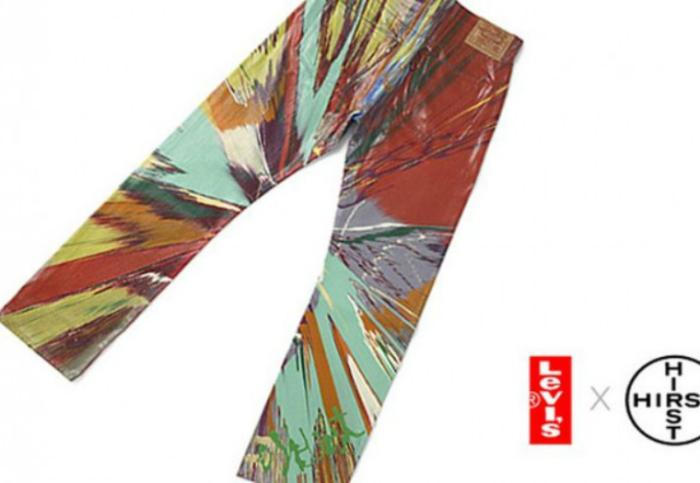 Цена: 27,000$. Джинсы, разработанные знаменитым художником. Эти прямые Levi обладают психоделическим рисунком с большими вспышками ярких цветов.