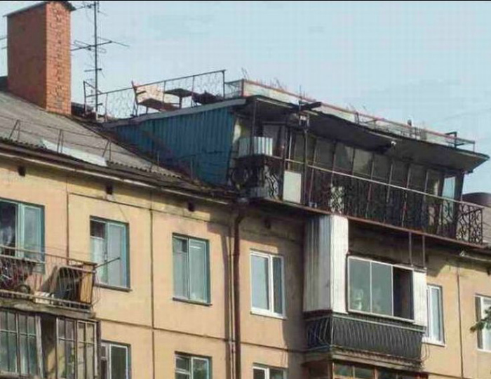 Границы дома расширились. | Фото: Проза.ру.