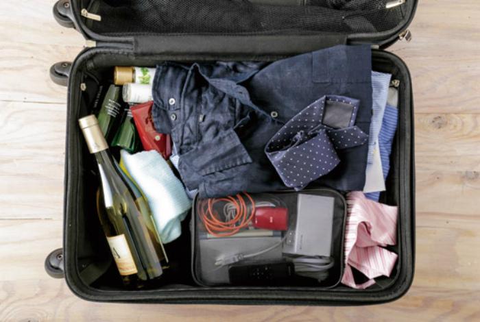 Правильно упаковать чемодан. | Фото: 360.life.