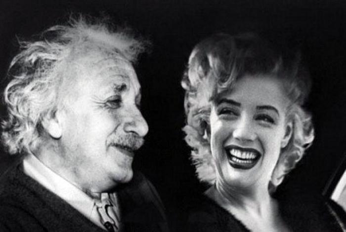 Умственные способности Мэрилин Монро и Альберта Эйнштейна| Фото: ЯПлакалъ.