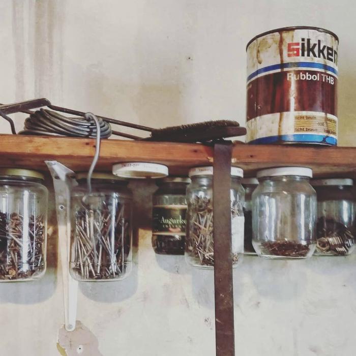 Хранение болтиков, шурупов и гаек. | Фото: Twizz.ru.