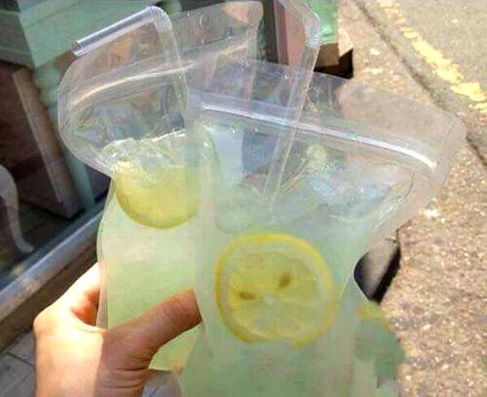 Напитки в пакетах. | Фото: Pinterest.