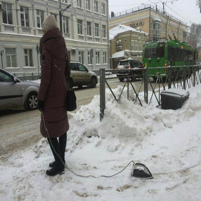 Всегда мечтала о собачке, но завела утюг... | Фото: Tatyana Ostapenko - Tumblr.