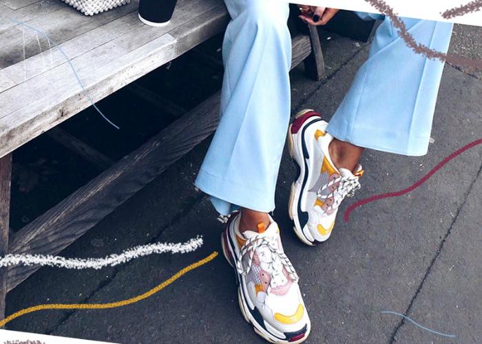 Уродливые кроссовки.| Фото: Glowsly.