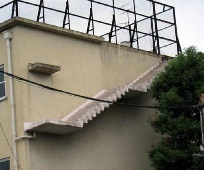 «Полезная» лестница.