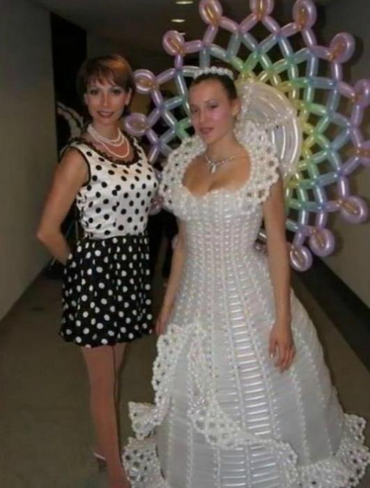 Воздушное платье.