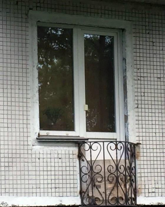 Маленький балкон во французском стиле. | Фото: Ribalych.ru.