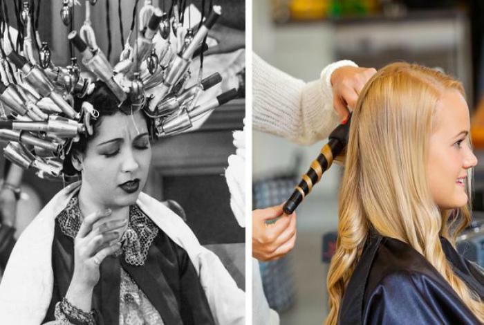 Приспособления для завивки волос. | Фото: ronnie arias.