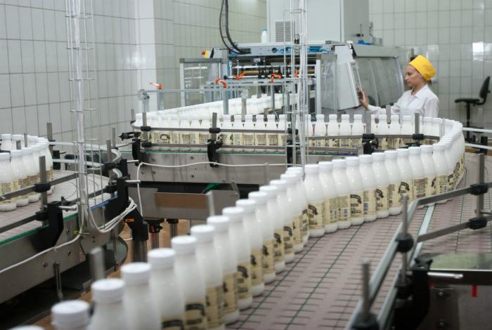 Качественная молочная продукция.