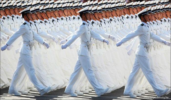 Удивительная организация французских военных.