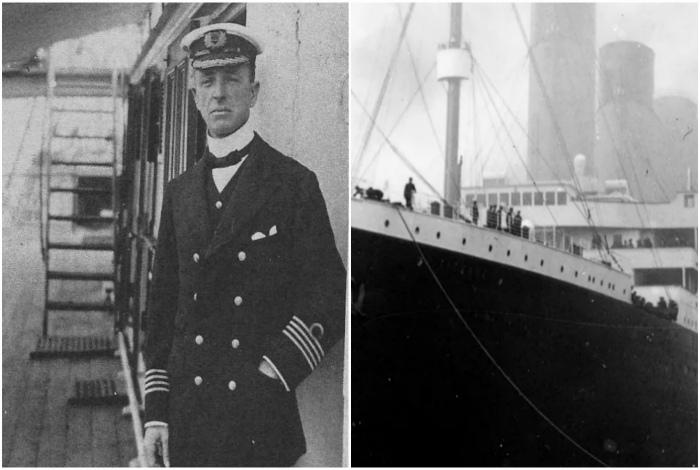 Крушение Титаника из-за отсутствия биноклей.