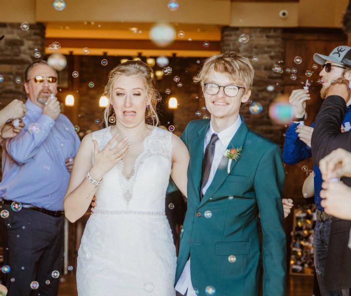 Невеста во всей красе. | Фото: Sympa-sympa.com.