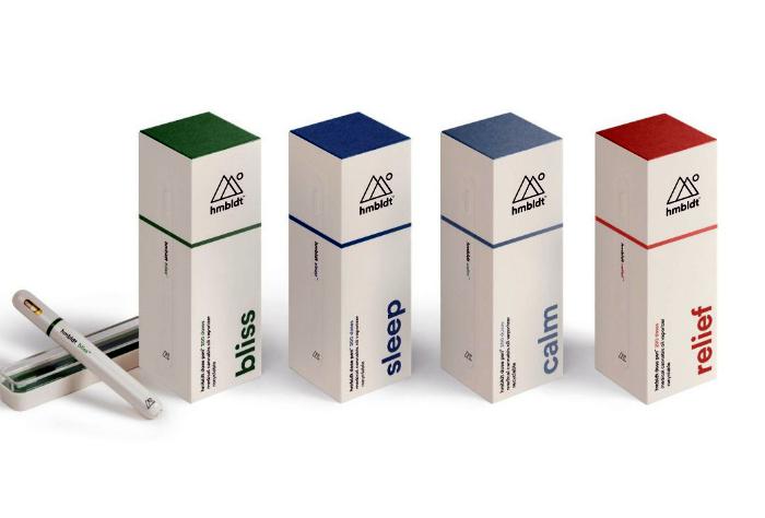 Ингалятор для медицинской марихуаны Hmbldt Vape Pens.