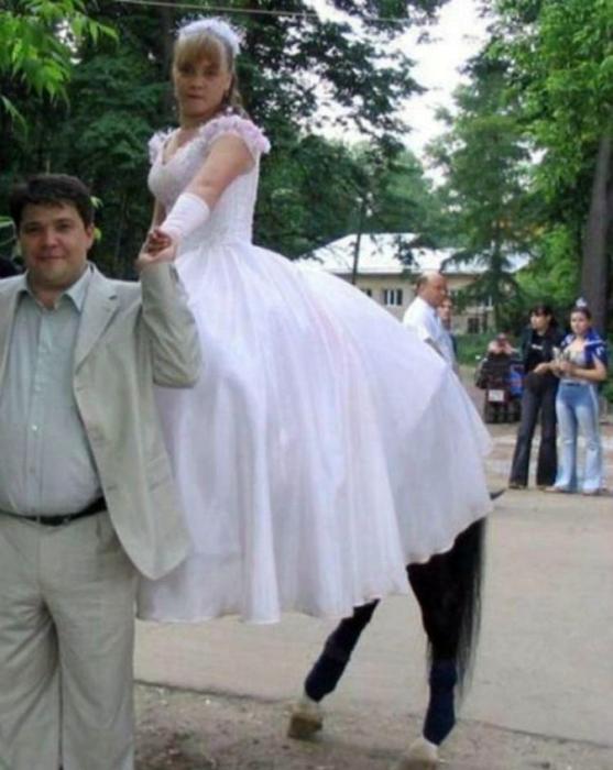 Ножки невесты.