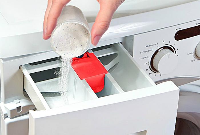Четко регулируем количество стирального порошка. | Фото: Cosmo-Frost.ru.