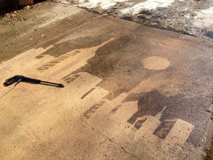 Рисунок из чистоты и грязи. | Фото: Reddit.