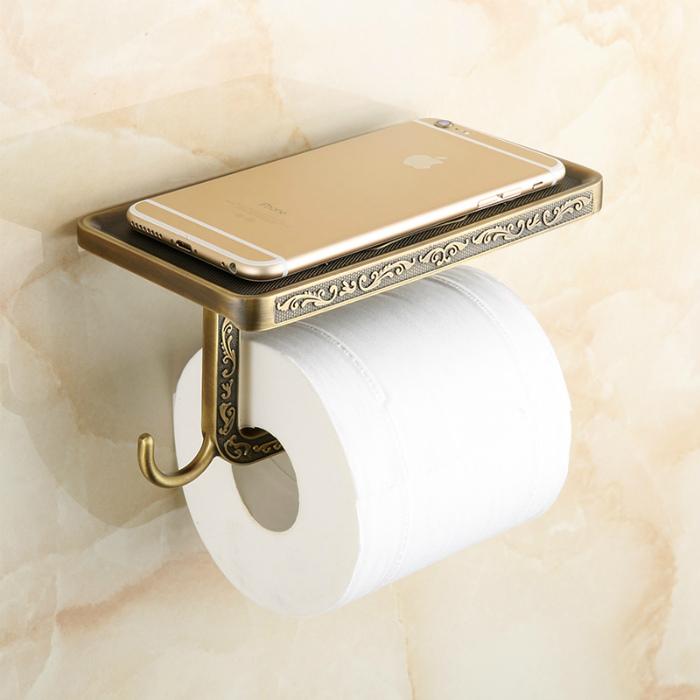 Держатель для туалетной бумаги.