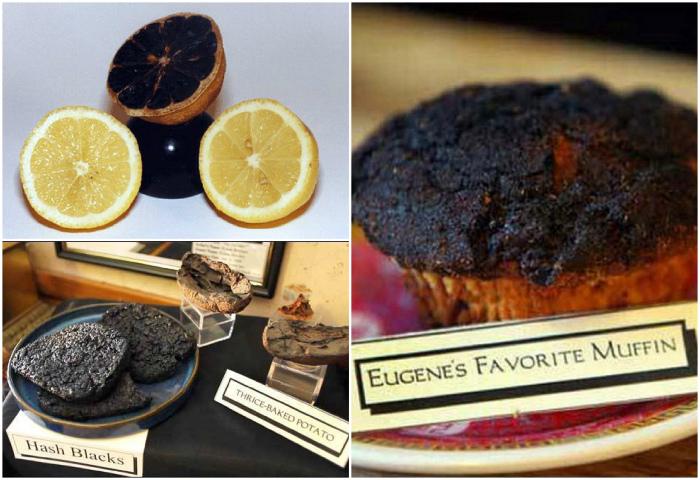 Музей подгоревшей еды, США.