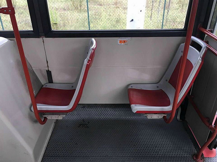 «Удобное» сиденье.