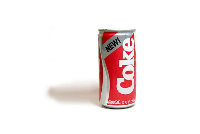 Обновленная Кока-кола.
