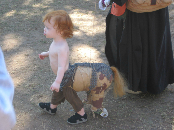 Ребенок кентавра.