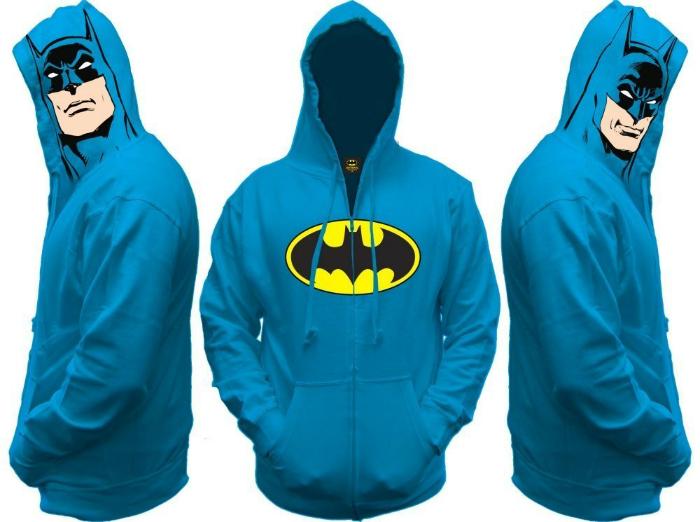 Потрясающая мужская толстовка «Бэтмен».
