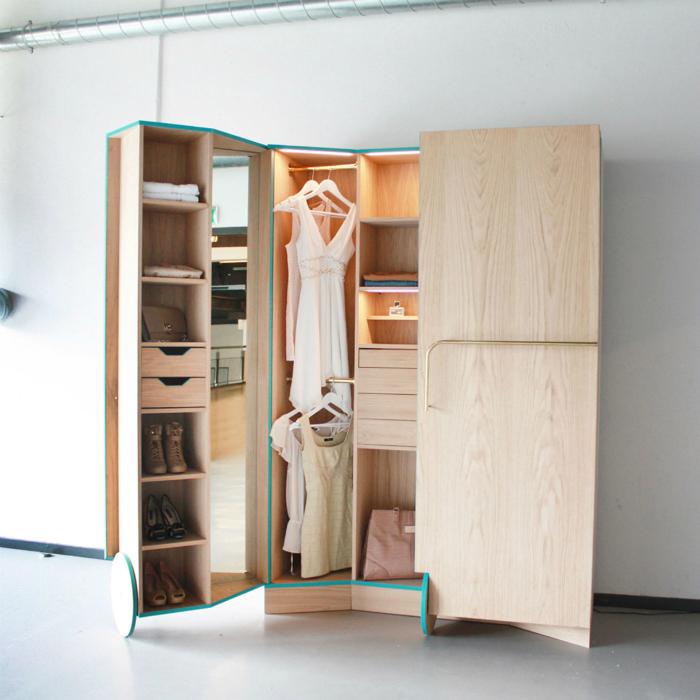 Шкаф с секретом от дизайн студии Hosun Ching.