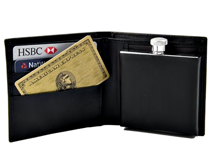 Фляга-бумажник.