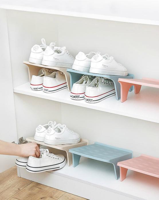 Очаровательные подставки для обуви. | Фото: Pinterest.