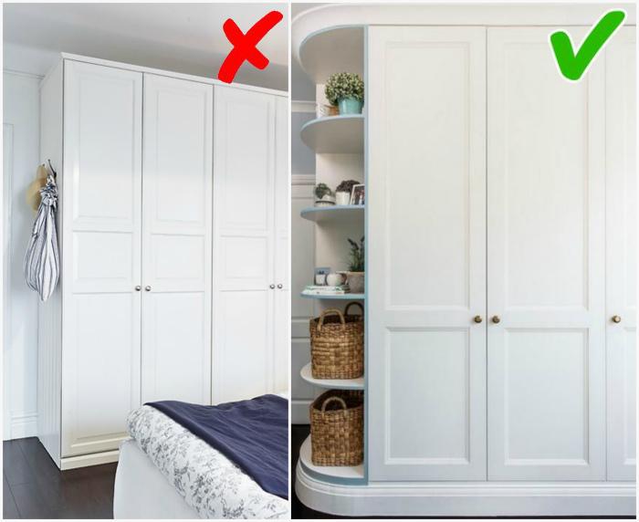 Идеальный шкаф для любого пространства. | Фото: Pinterest, lasicx.info.