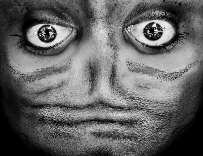 Человеческое лицо.