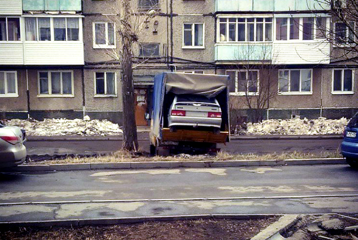 Неповторимая автомобильная матрешка.