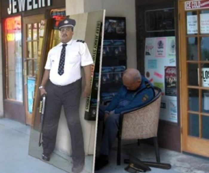 Заместитель охранника.