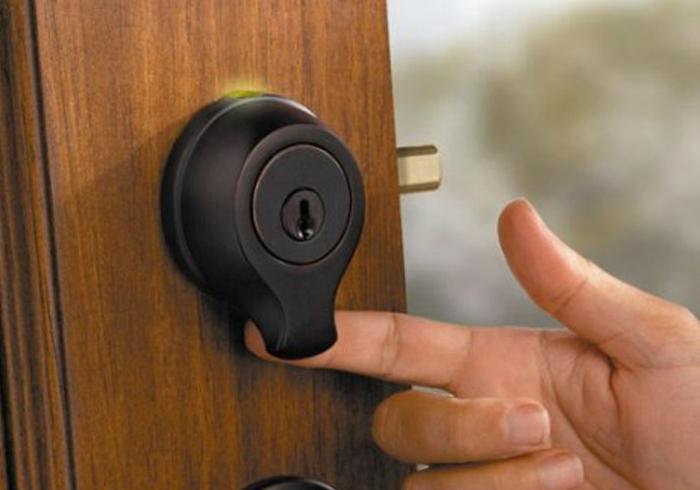 SmartScan cerradura de la puerta biométrica.