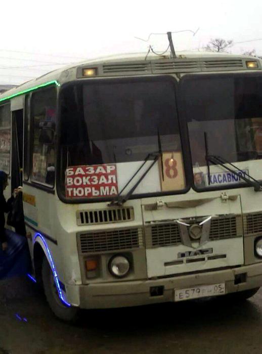 Веселый автобус.