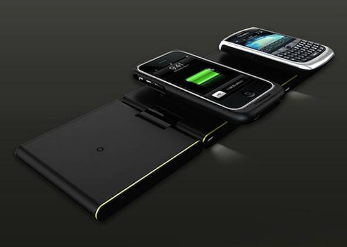 Беспроводная зарядная станция для мобильных устройств.