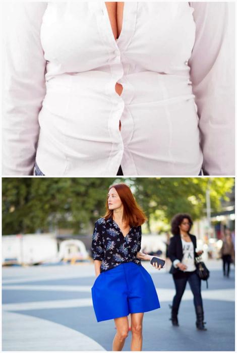 Неудобная одежда, а также вещи не по размеру. | Фото: Vietbao, Топ-10: Рейтинги, Обзоры, Факты, Списки лучших.