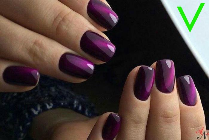Фиолетовый цвет и его оттенки.