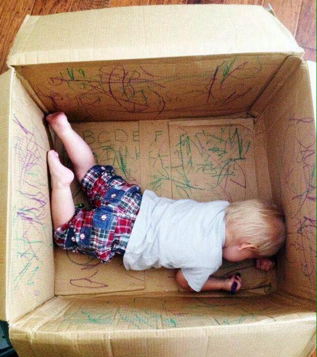 Коробка для рисования.