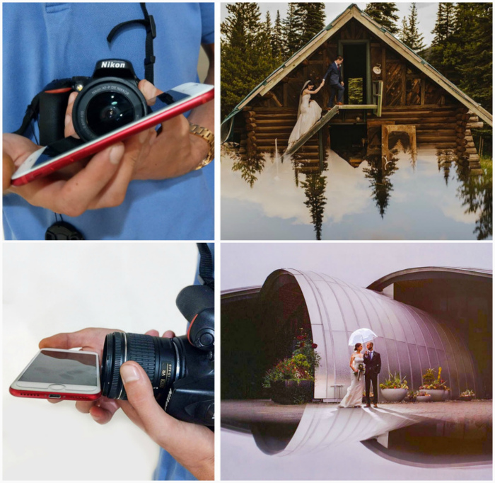 Игры с отражением. | Фото: BACA, Tribunnews.com.
