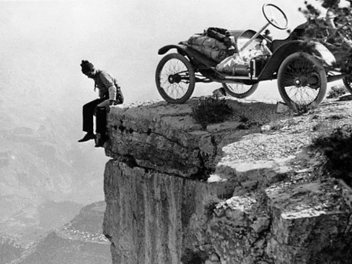 1914 год. Величественный Большой Каньон.