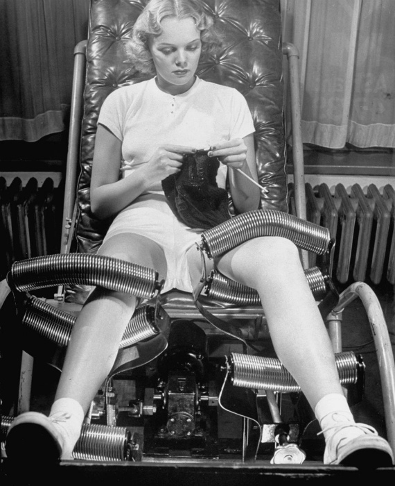Массажное кресло для похудения.